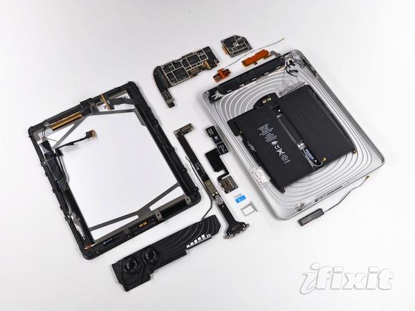 3g ipad fixit 1 3G iPadin içinde neler var, merak ediyor musunuz?