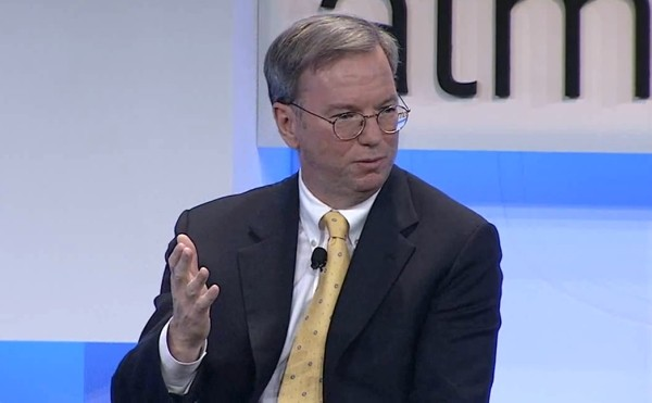 eric schmidt google ceo Get the latest news, updates, and happenings at google learn about google's core values and company philosophy.