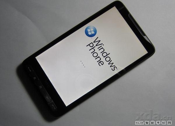 HTC HD2 Windows Phone 7 ile çalıştırıldı - Video