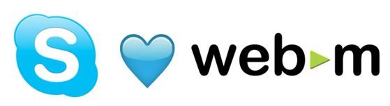 skype webm 080811 Skype 5.5 Windows istemcisiyle birlikte WebM formatında video görüşmeleri gerçek oldu