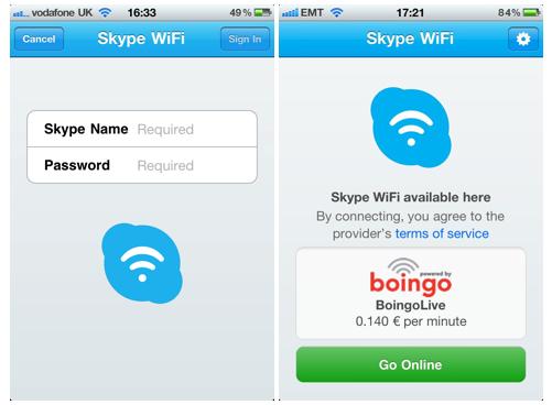 skype wifi ios Skype WiFi iOS uygulamasıyla 1 milyonun üzerinde WiFi erişim noktasından internete giriş imkanı