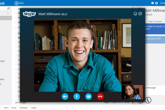 Microsoft internet tarayıcısı üzerinde çalışacak Skype için ilk adımı attı