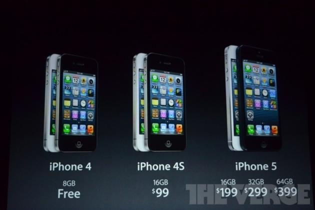 IPhone 4S ve iPhone 4'ün fiyatı indirildi, iPhone 3GS tarihe