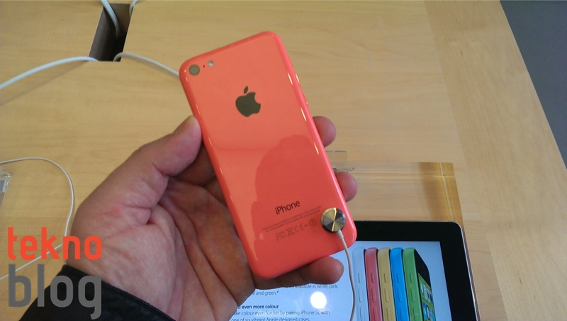 Pembe iPhone 5c