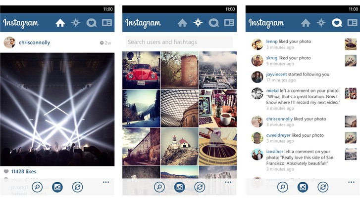 instagram windows 10