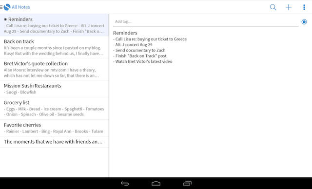 Simplenote-Android