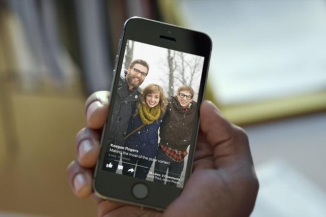 Facebook paper uygulamasının ipad android ve uluslararası