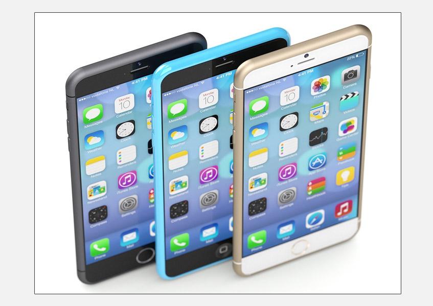 Martin Hajek tarafından oluşturulmuş bir iPhone 6 konsepti
