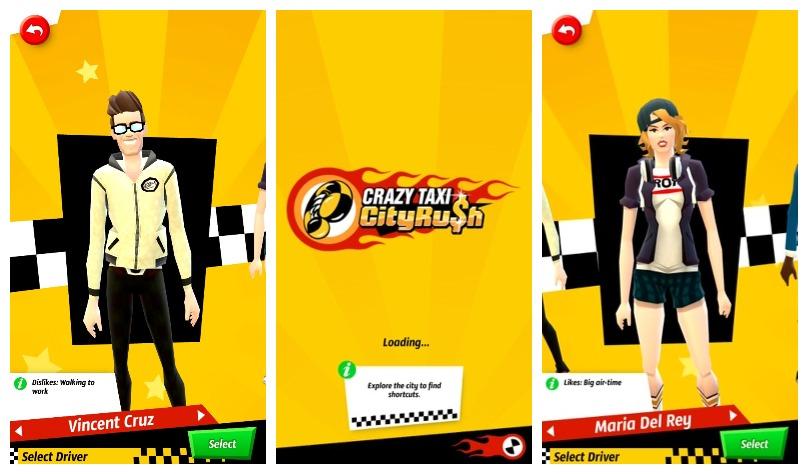 Crazy Taxi: City Rush: Çılgın bir taksi yolculuğu için kemerlerinizi bağlayın