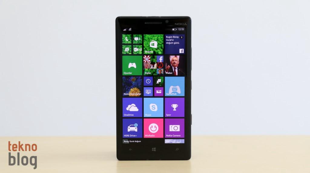 Nokia Lumia 930 İncelemesi