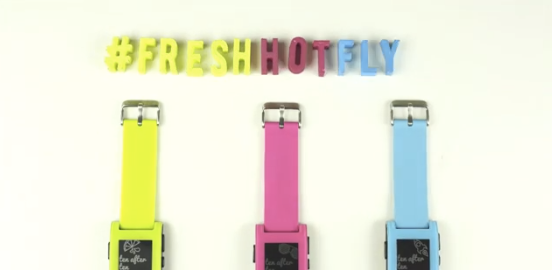Pebble akıllı saatin sınırlı sayıda yeni renkleri çıktı
