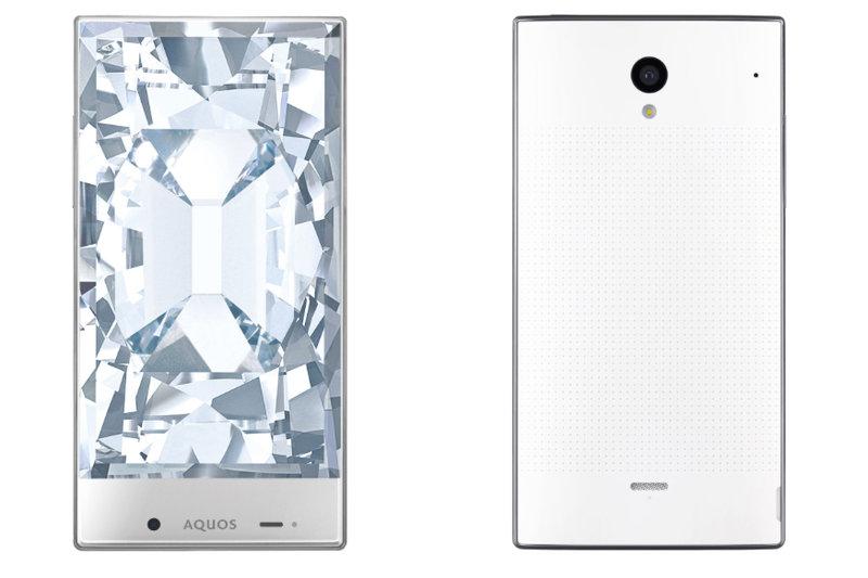 Sharp'tan iki yeni Android telefon: Aquos Crystal ve Crystal X