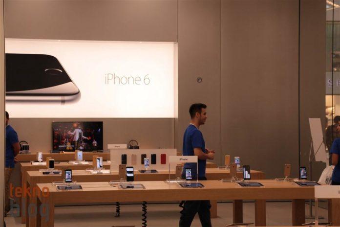 İstanbul'daki ikinci Apple Store'dan açılış öncesi fotoğraflar