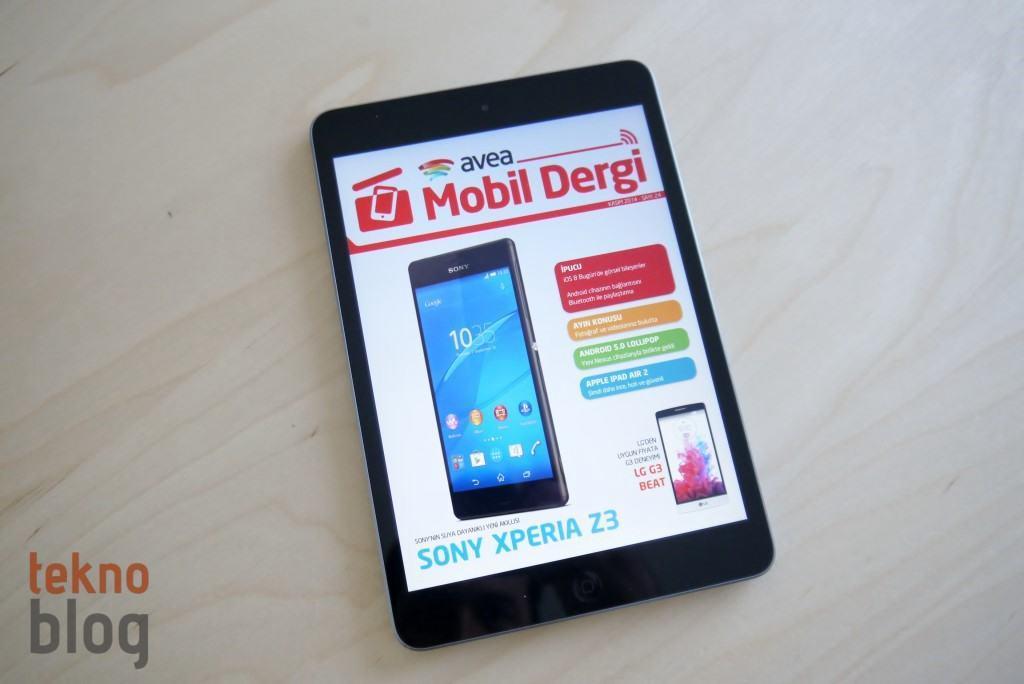 Avea Mobil Dergi KASIM 2014 sayısı yayında, bu sayıda neler var?