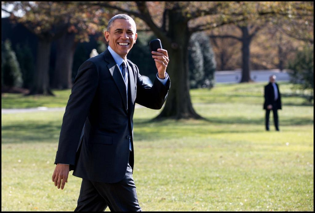 barack obama blackberry