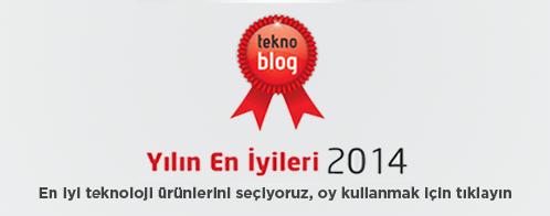 Teknoblog Yılın Ödülleri 2014 için oy kullanın