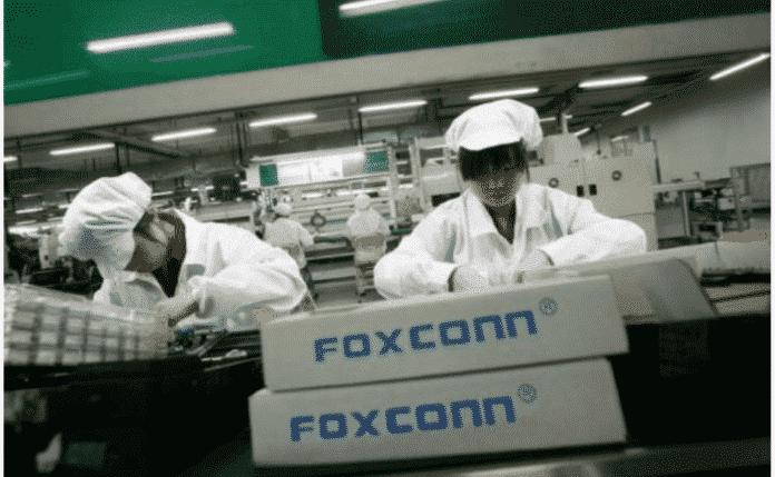 foxconn fabrika apple