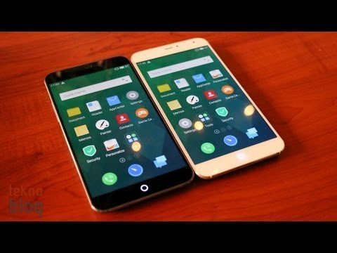 Meizu MX4 Ön İnceleme (video)