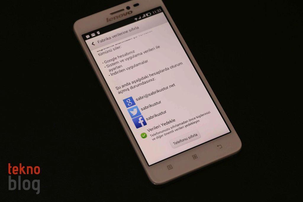 Nasıl Yapılır: Android telefonunu fabrika ayarlarına sıfırlama