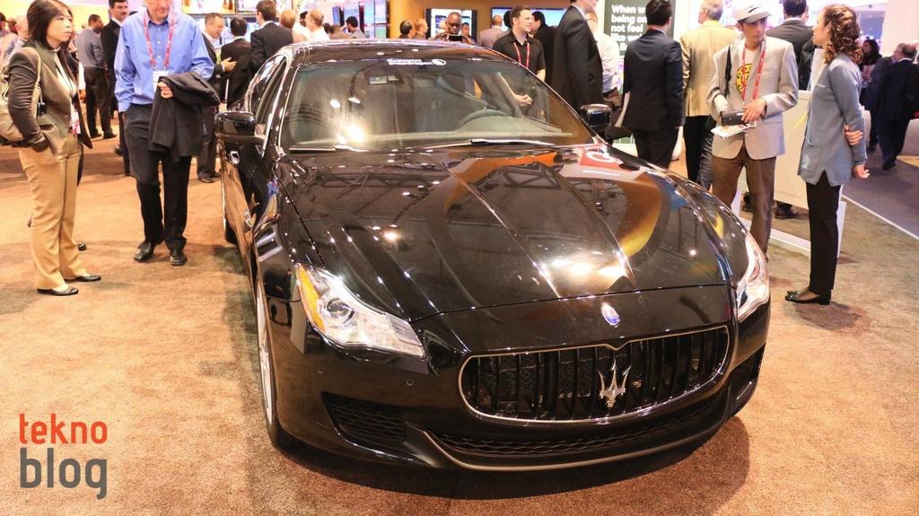 Qualcomm ve Maserati'nin tasarladığı konsept teknoloji otomobilinin sürücü koltuğuna geçtik