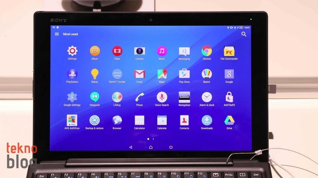 sony xperia z5 tablet