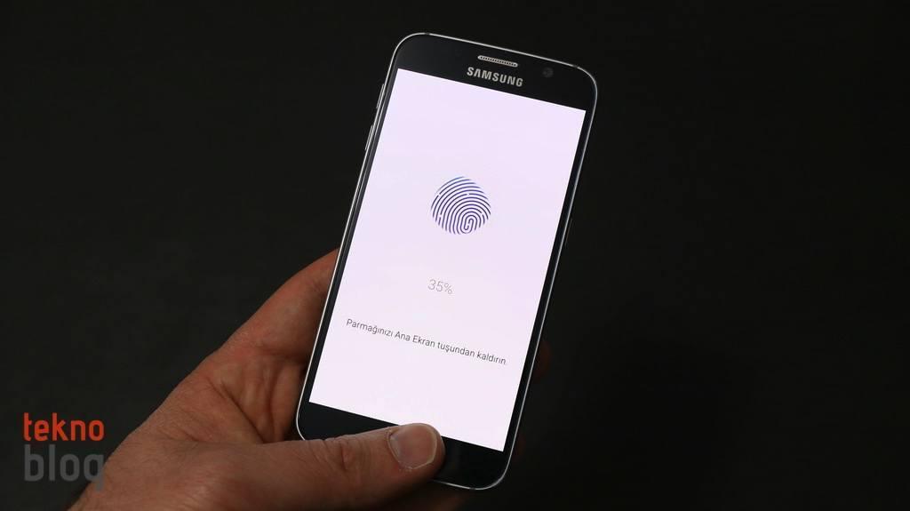 Nasıl Yapılır: Samsung Galaxy S6'da parmak izi ekleme