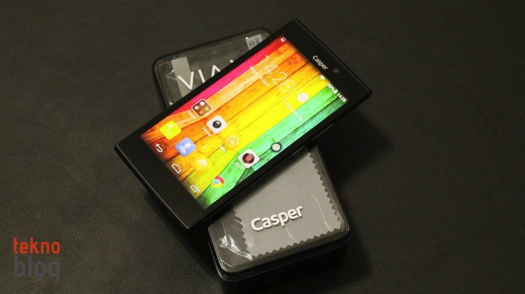 Video: Casper VIA V6 kutusundan çıkıyor