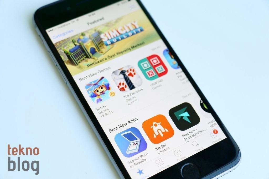 app store oyunlari