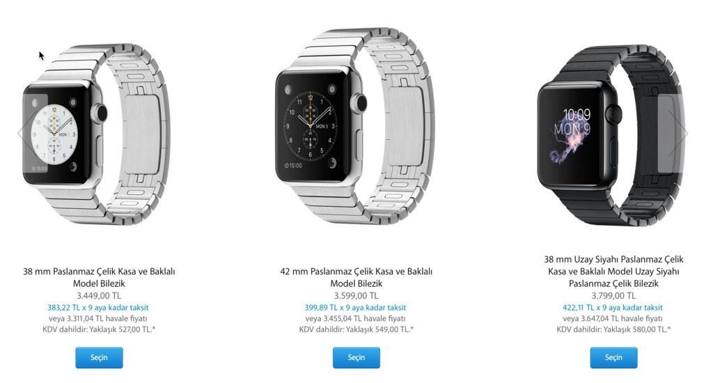apple watch kayışları
