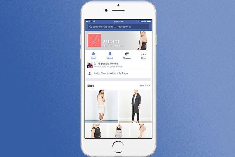 Facebook kurumsal sayfaları mağaza vitrinine dönüştürüyor