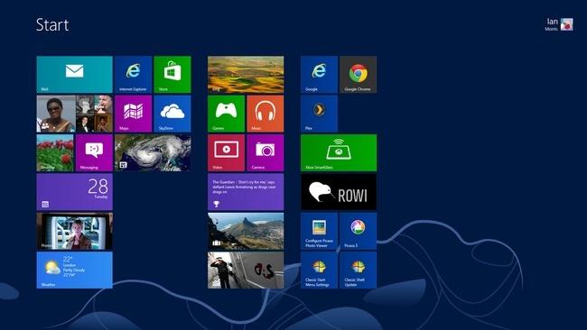 Windows Sürümleri Windows 8