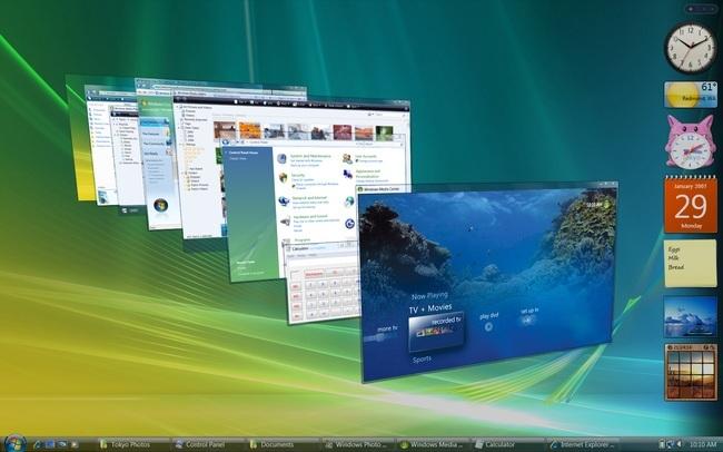 Windows Sürümleri Windows Vista