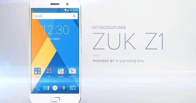 Cyanogen işletim sistemli ZUK Z1 Avrupa'da satışa sunuldu