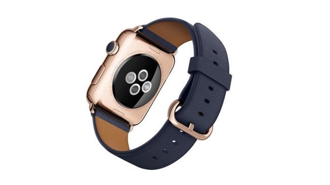 Apple Watch Edition Roze Altın