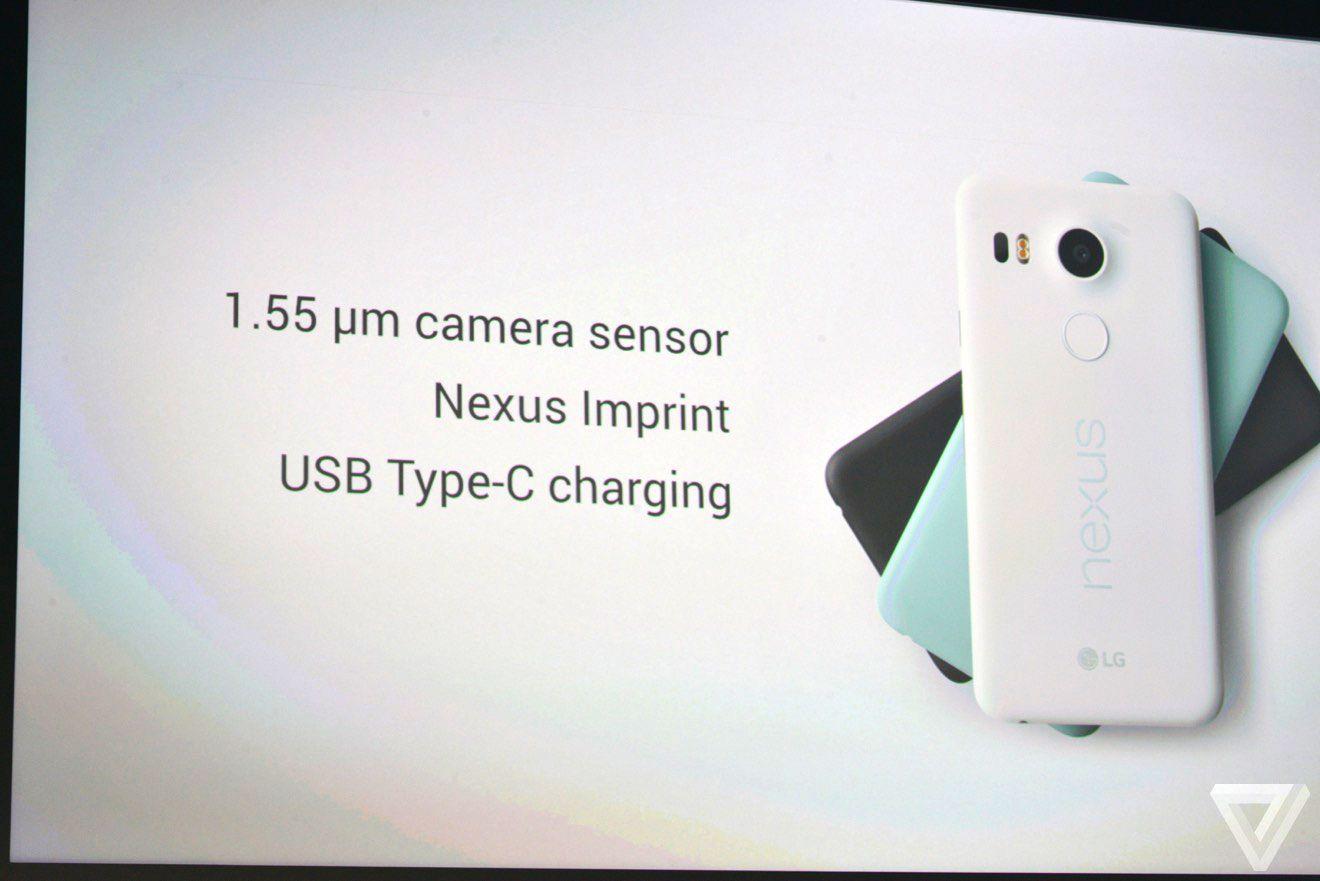 Nexus 5X ve 6P'nin ortak özellikleri