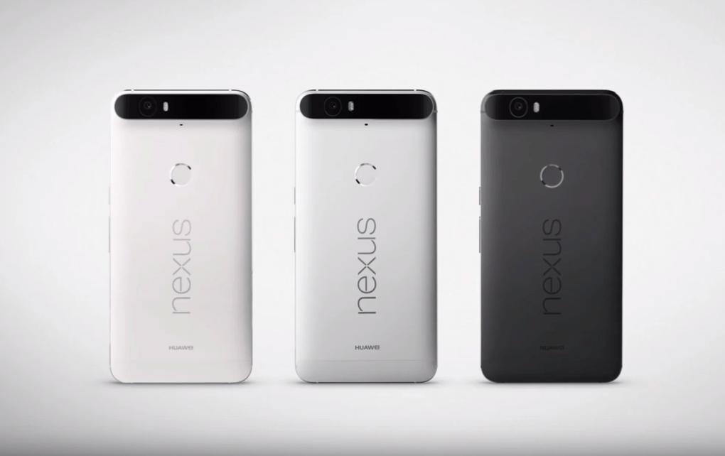 Google Nexus 6P Renkler ve Arka Görünüm
