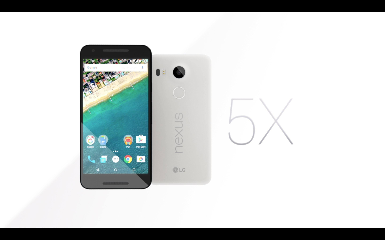 Google Nexus 5X tanıtıldı