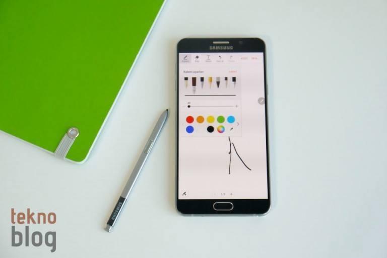 Samsung Galaxy Note 5 İncelemesi