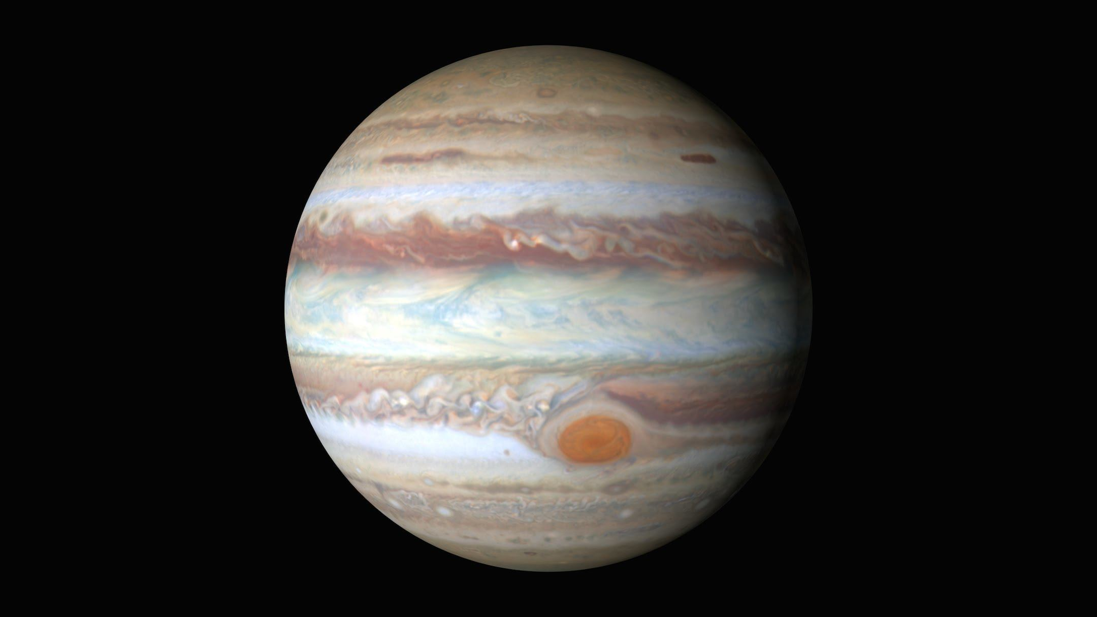 NASA Jüpiter'in 4K videosunu yayınladı