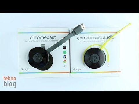 Video: Google Chromecast ve Chromecast Audio kutusundan çıkıyor