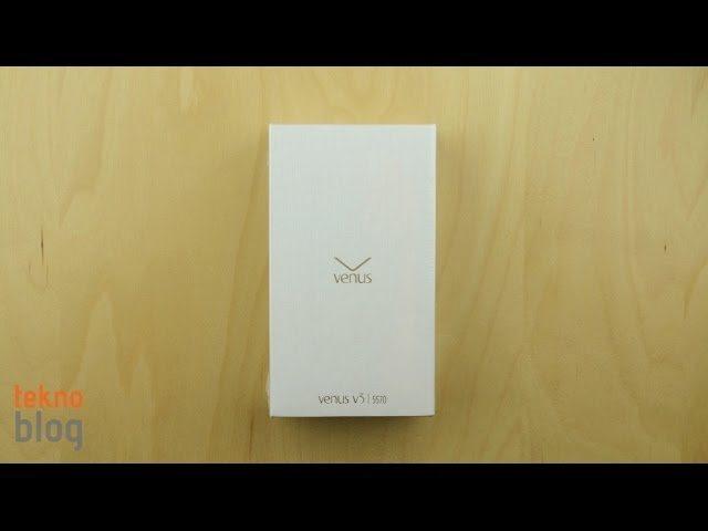 Video: Vestel Venus V3 kutusundan çıkıyor
