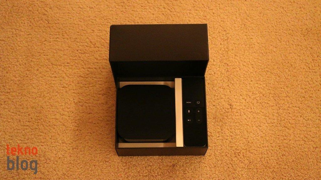 Apple TV 2015 Kutu Açılımı