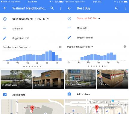 Google Maps iOS Çalışma Saatleri