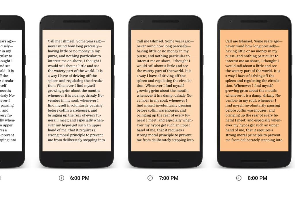 Google Play Kitaplar Gece Işığı