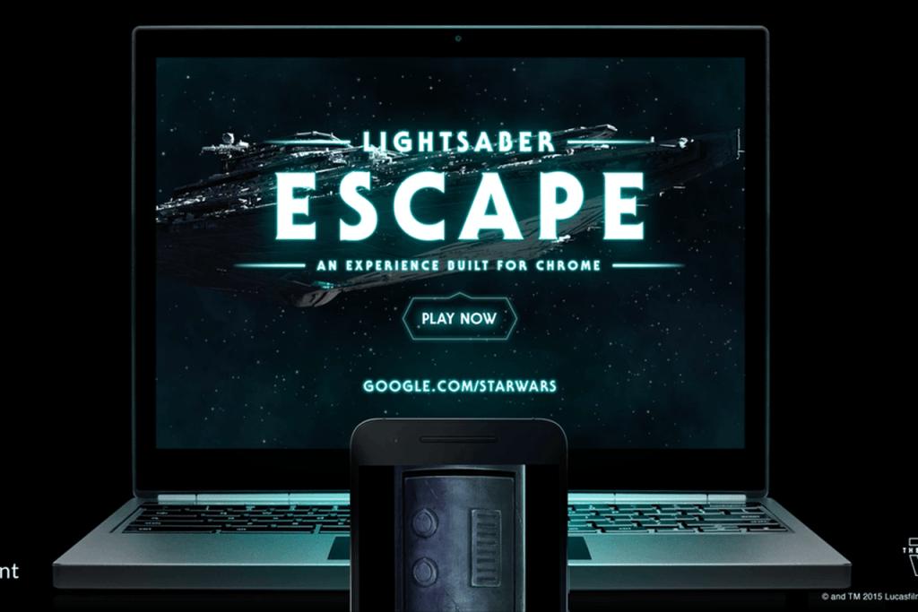 Google Star Wars Lightsaber Escape