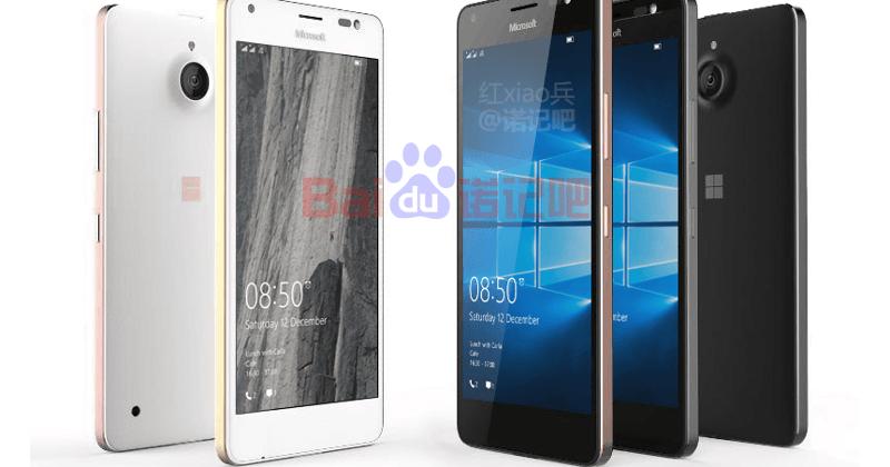 Microsoft Lumia 850 Sızıntı