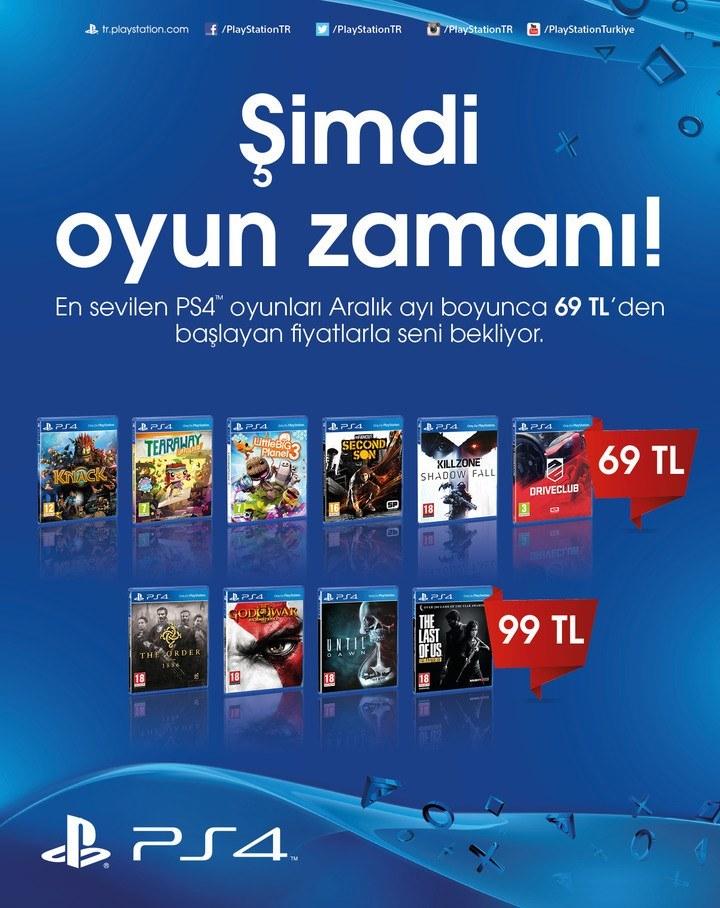 Sony PS4 Oyunları