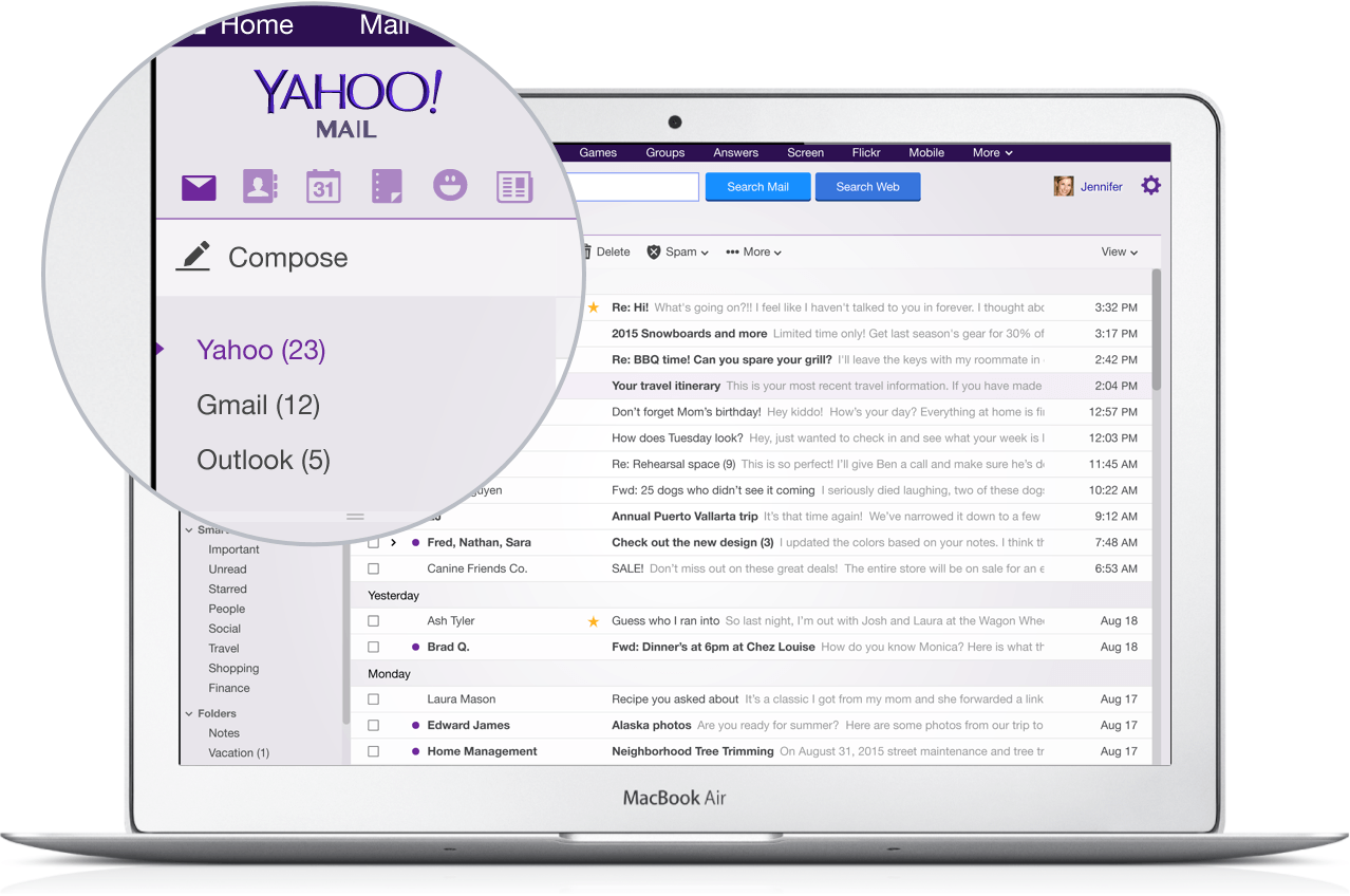Yahoo Mail Gmail
