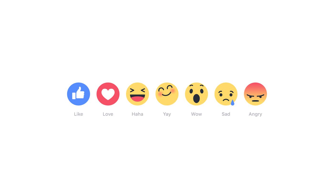 facebook yeni beğen butonları
