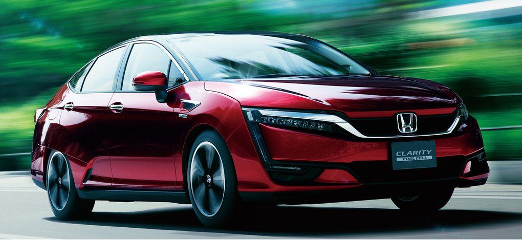Hidrojenle çalışan Honda Clarity'nin yeni modeli 2016'da yollarda olacak